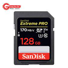 Thẻ nhớ SDXC SanDisk Extreme Pro U3 V30 1133x 128GB 170MB/s - Giang Duy Đạt