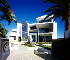 modern white house design in australia