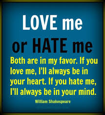 Love Me Or Hate Me Quotes Fascinating 48 Best Quotes About Hate Hate Quotes QuotesOnImages