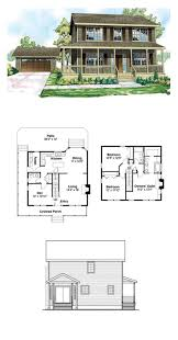 saltbox house plans. Cottage Country Florida Traditional House Plan 60913 Saltbox Plans A
