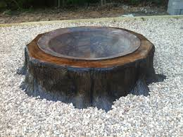 Tree Stump Seats Table And Chairs Made Out Of Tree Stumps Pretty Cool Fashion 4