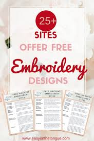 See more ideas about monogram fonts, machine embroidery, embroidery. 15 Sites Free Embroidery Designs