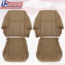 1996 to 2002 toyota 4runner upholstery replacement leather seat covers oak tan