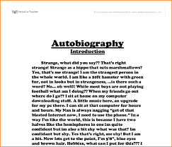 autobiography example basic job appication letter cultural autobiography on the most possible autobiographical stucture