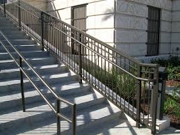 used outdoor wrought iron stair railing
