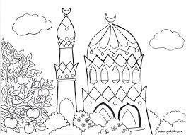 Islamic Word Colouring Pages 288221 Islamic Coloring Pages For Kids