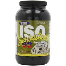 ultimate nutrition iso sensation 93 whey protein packaging type plastic conner