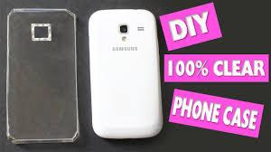 easy diy 100 transpa decorative clear phone case skins simplekidscrafts you