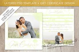 photography gift certificate template photo gift card watercolor design layered psd files design 46 graphic by daphnepopuliers creative fabrica