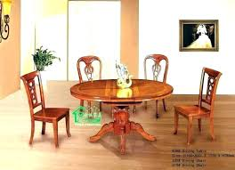 chairs and table by retro mummy via round wood kitchen ashley furniture with bench rustic round kitchen