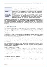Business Partnership Agreement Template Free | Spartagen.org