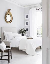gray and white for the master s bedroom 5 tips for mastering a perfect white bedroom federalist mirror crown molding