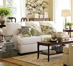 Pottery Barn Living Room Designs Pottery Barn Living Room Design With White Sofa House Decorating