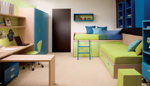 Small Bedrooms Interior Design Comfy Bedroom Interior Design For Kids Boy With Blue Wall Paint