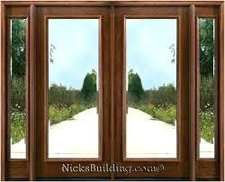 exterior glass wood door.  Door Double Front Doors Exterior  The Best Option Wood With Glass  Wooden In Door B