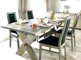 rustic large dining table awesome black brilliant round kitchen set