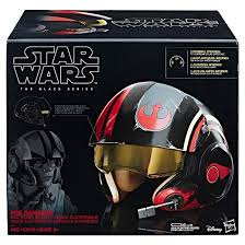 star wars poe dameron the black series electronic x wing pilot