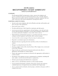 Medical Receptionist Job Description Resume Medical Assistant Job Description For Resume Study Scheduler 22
