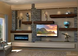Best Place To Buy Floating Shelves Floating Shelves Custom Media Wall Design By DAGR Design 96