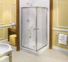 bathroom ideas corner shower design: round corner shower designs osbdata bathroom modern picture of bathroom decoration using steel framed corner shower glass doors including light yellow bathroom wall paint and mount wall round steel shower heads impressive images of bath