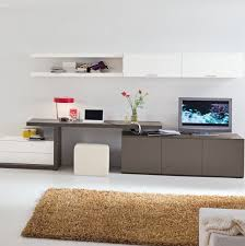 Modern And Amazing Table Design For Teenagers: White Elegant Study Table  Designs For Livingroom