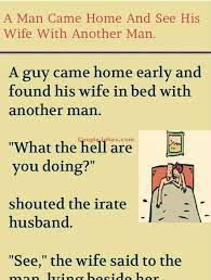 Husband His Wife Another Man