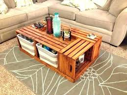 wooden crate side table wooden crate coffee table apple ideas wood box diy wood crate side table