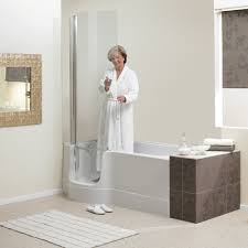 if showering is your choice the shower screen sits snuggly over the bath door with the assistance of magnets