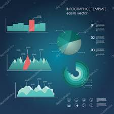 Modern Charts And Graphs Pictures Data Charts Set Of Graphs And Charts In Modern