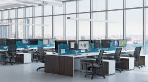modern office. Floor To Ceiling Glass Offices, Partitions And Walls, Modern Office Furniture With Complete Buildout Solution N