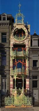 art nouveau architecture history. la maison saint-cyr is an art nouveau house designed by the architect gustave strauven and located in brussels. building was built between 1901 1903 architecture history o