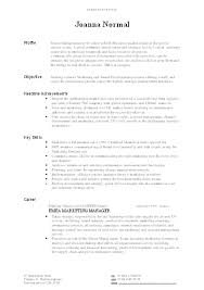 Writing A Resume Magnificent Example Of A Well Written Cute Example Of Writing A Resume Sample