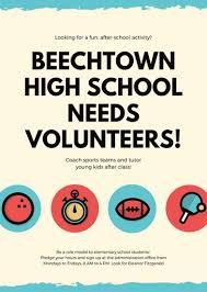 volunteer schedule template customize 55 volunteer flyer templates online canva