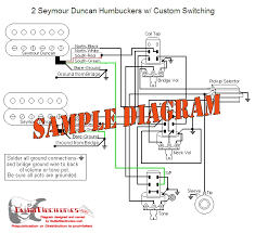 electric guitar wiring diagrams 2 seymour duncan humbucker with Wiring Diagrams For Guitar Pickups electric guitar wiring diagrams 2 seymour duncan humbucker with custom switching how to rewire a guitar pickup wiring diagram for guitar pickups