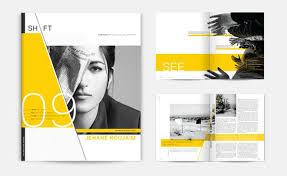 Creative Brochure Layout 45 Interesting Brochure Designs Web Graphic