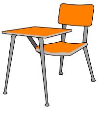 school desk and chair clipart.  Desk Liposuction20clipart With School Desk And Chair Clipart H