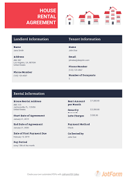 Download or preview 2 pages of pdf version of room rental agreement (doc: House Rental Lease Agreement Template Pdf Templates Jotform