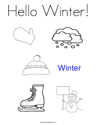 Small Picture Welcome Winter Coloring Page Twisty Noodle
