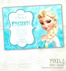 make your own frozen invitations frozen birthday invitation template invite free danielmelo info