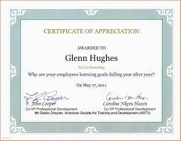 Sample Certificate Of Appreciation For Guest Speaker In