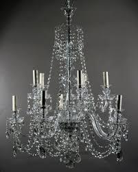 beautiful 10 branch antique bohemian crystal chandelier fritz fryer czech crystal chandelier