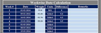 Download Pregnancy Due Date Calculator Excel Template