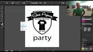 Illustrator For Screen Printers Design Tutorial How To Make Print Ready Artwork In Adobe Illustrator For Silk Screen Printing On T Shirts
