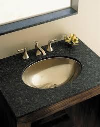 wood black top bathroom vanity cabinet with stainless steel oval stainless bathroom sink