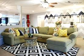 large rugs for living room cute and colorful living room reveal classy clutter in black white