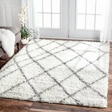 west elm moroccan rug luxury nuloom alexa my soft and plush moroccan trellis white grey easy