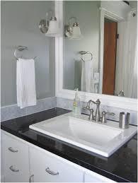 Bathroom  Ceiling Light Mirror Neutral Color Curtain Bathroom Neutral Bathroom Colors