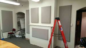 soundproofing office space. fine space sonoraar wall and ceiling panels are used for absorbing sound within a space  soundproofing office on s