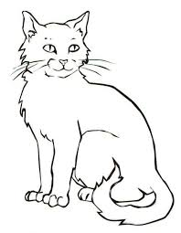 Small Picture cat color pages printable cat coloring sheets lovely cartoon cat