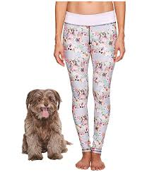 Puppies Make Me Happy Pawesome Blossom Leggings Zappos Com